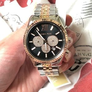 Mk unisex watch 3tone